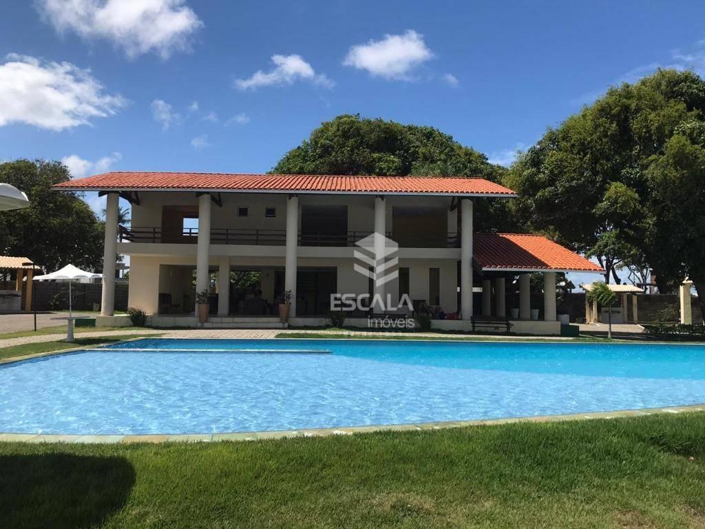 Lote à venda, 304 m², Vila do Porto, condomínio fechado, financia - Lagoa do Banana - Caucaia/CE