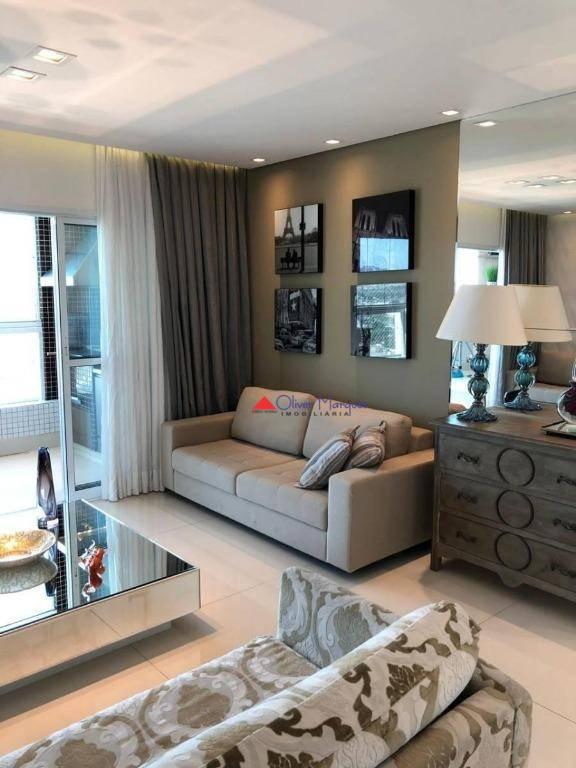 Apartamento Duplex para alugar, 216 m² por R$ 5.400,00/mês - Centro - Osasco/SP