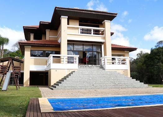 Sobrado com 4 dormitórios à venda, 644 m² por R$ 5.435.000 - Vila David Antônio - Campo Largo/Paraná