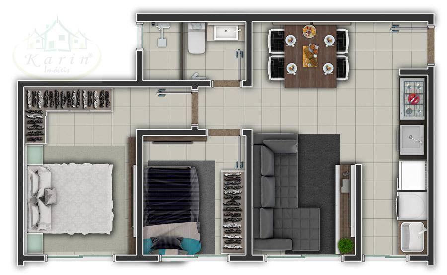 Apartamento à Venda - Loteamento Ouro Verde I