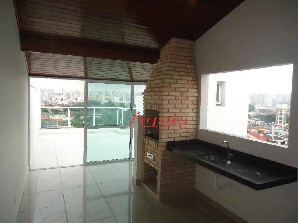 Cobertura com 2 dormitórios à venda, 49 m² por R$ 395.000,00 - Parque Jaçatuba - Santo André/SP