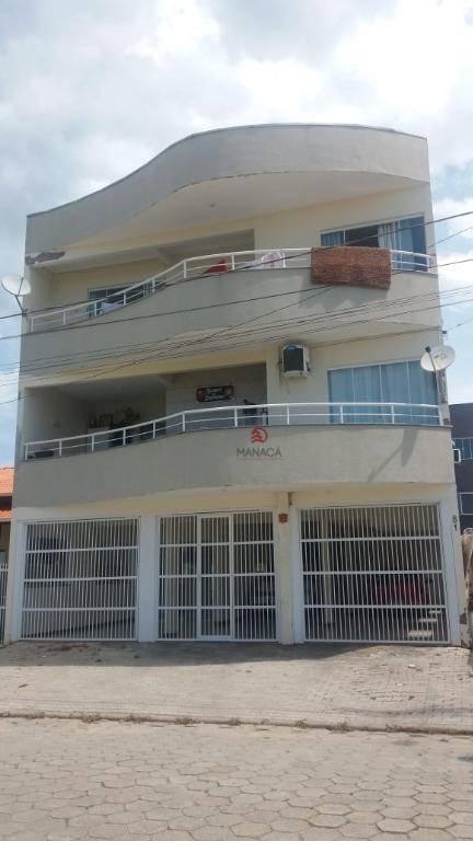 Apartamento com 2 dormitórios à venda, 90 m² por R$ 250.000 - São Cristóvão - Barra Velha/SC