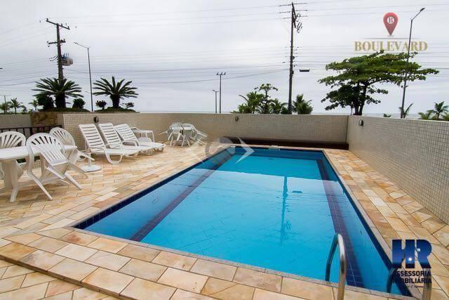 Apartamento Garden Frente ao mar com Piscina no Caioba