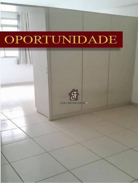 Kitnet com 1 dormitório à venda, 35 m² por R$ 130.000 - Botafogo - Campinas/SP