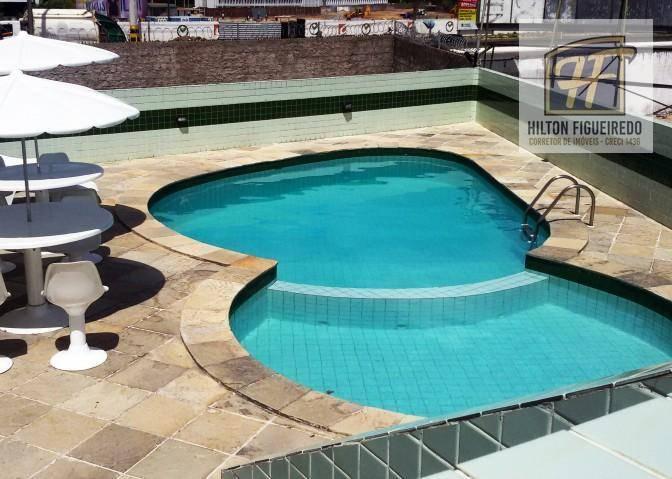 Apartamento com 3 suites para alugar, 124 m² por R$ 2.000/mês - Bessa - João Pessoa/PB
