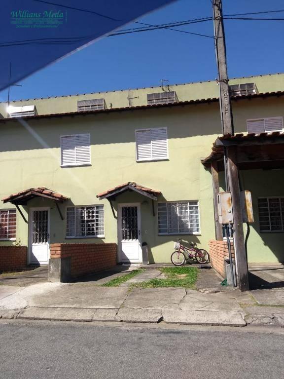 Sobrado com 2 dormitórios à venda, 67 m² por R$ 250.000 - Jardim Adriana - Guarulhos/SP