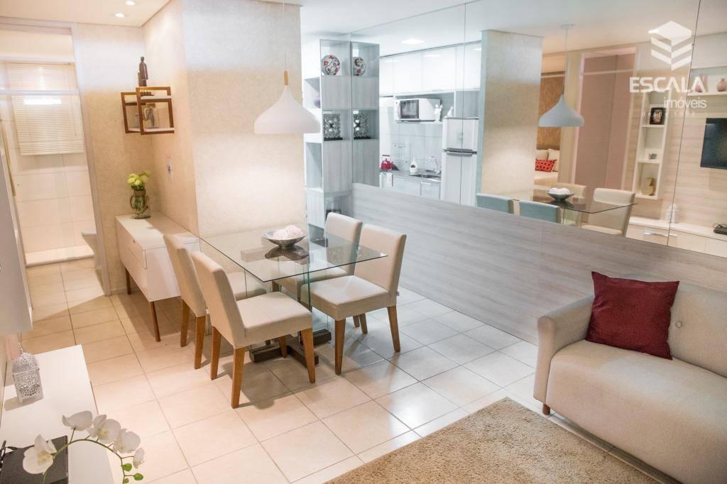 Apartamento à venda em Caucaia. 42,64m2, 2 quartos, financia. Minha casa, minha vida.