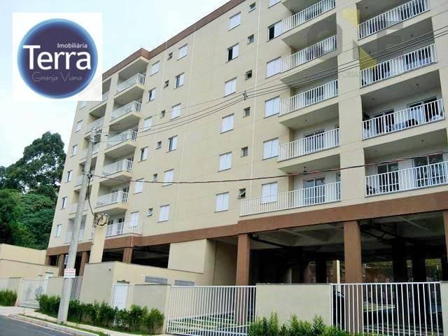 Apartamento com 1 dormitório à venda, 49 m² por R$ 240.000 - Granja Clotilde - Cotia/SP