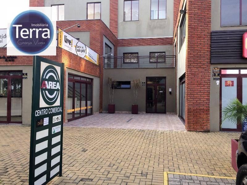 Sala à venda, 44 m² por R$ 192.000 - Granja Viana - Granja Viana