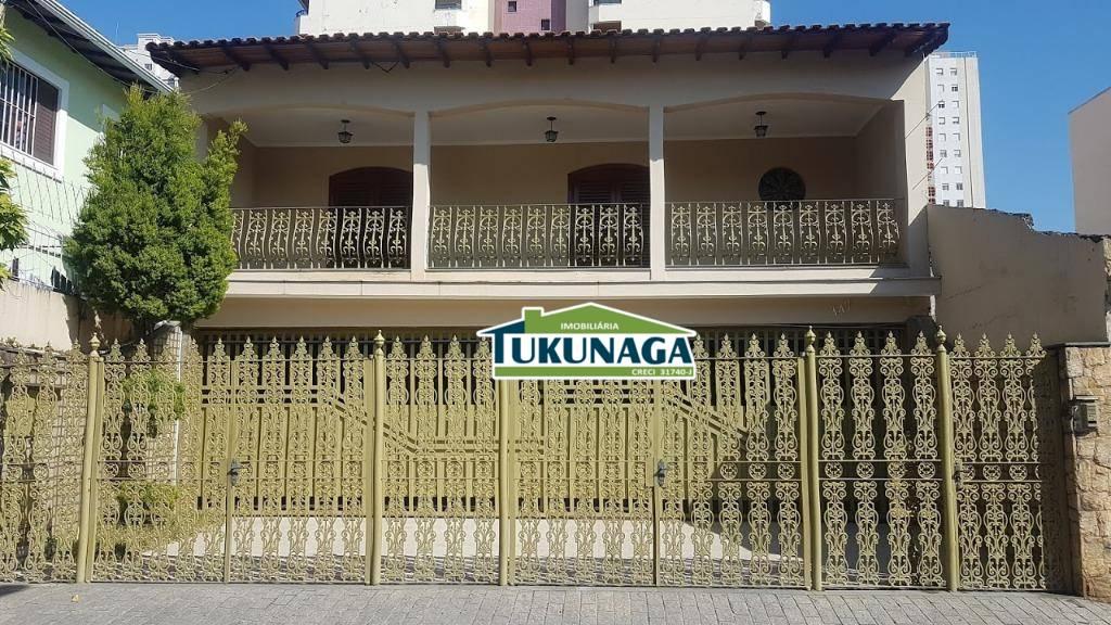 Sobrado com 4 dormitórios para alugar, 300 m² por R$ 3.500 - Vila Rosália - Guarulhos/SP