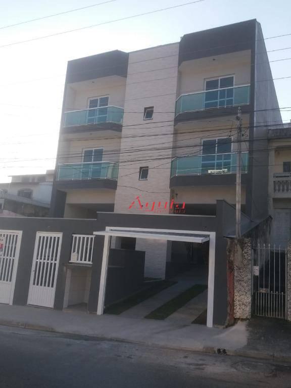 Apartamento com 2 dormitórios à venda, 51 m² por R$ 229.000 - Vila Príncipe de Gales - Santo André/SP