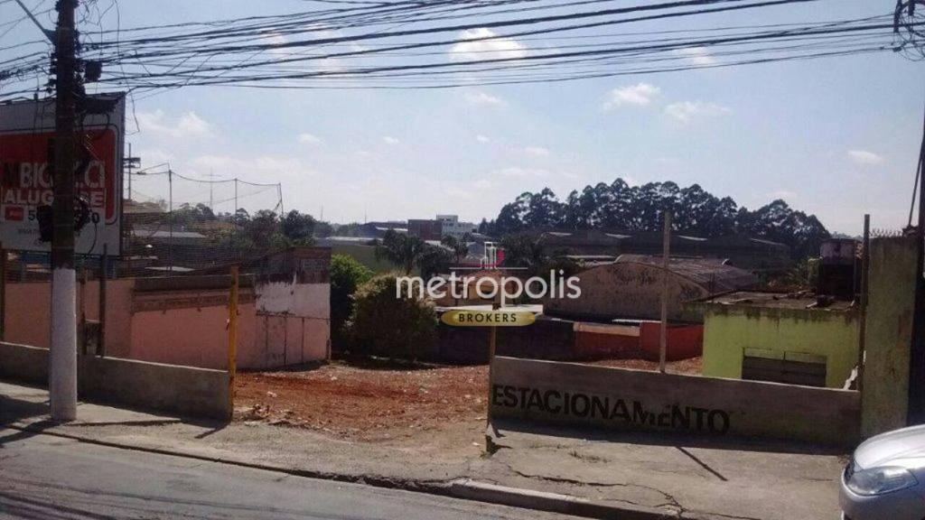 Terreno para alugar, 1763 m² por R$ 7.900/mês - Campestre - Santo André/SP