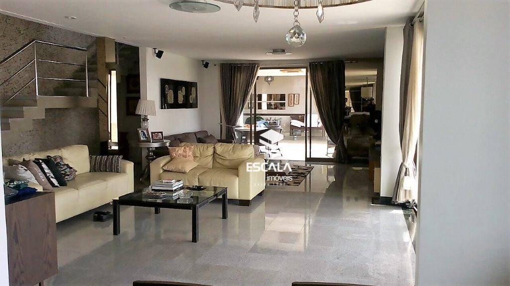 Casa tríplex com 4 quartos à venda, 350 m², varanda gourmet, elevador,6 vagas - Dunas - Fortaleza/CE