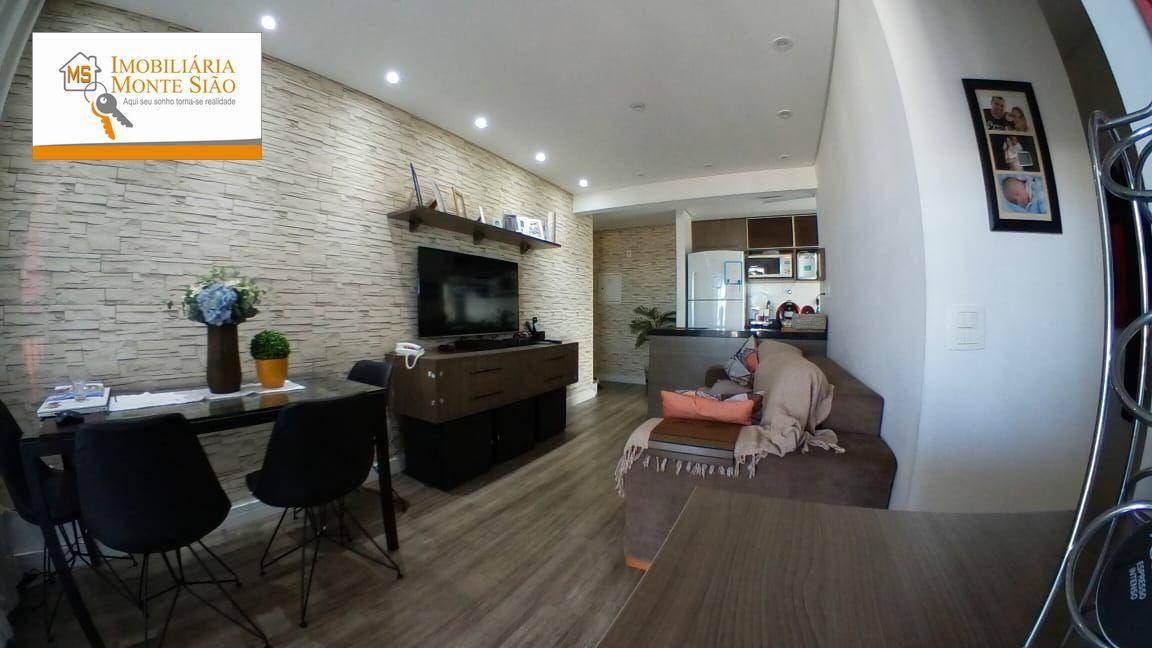 Apartamento com 3 dormitórios à venda, 68 m² por R$ 445.000,00 - Gopoúva - Guarulhos/SP