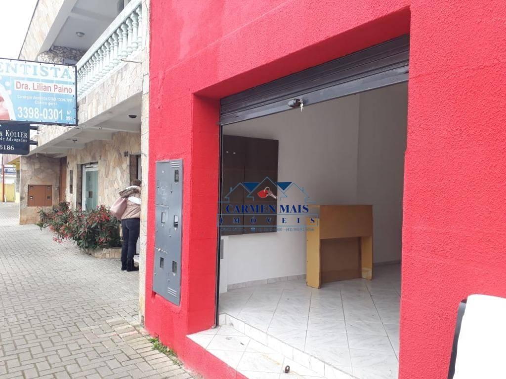 Loja comercial para locação, Centro, São José dos Pinhais.