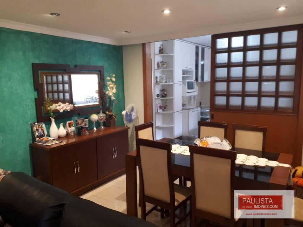 Sobrado com 3 dormitórios à venda, 115 m² por R$ 790.000 - Chácara Santana - São Paulo/SP