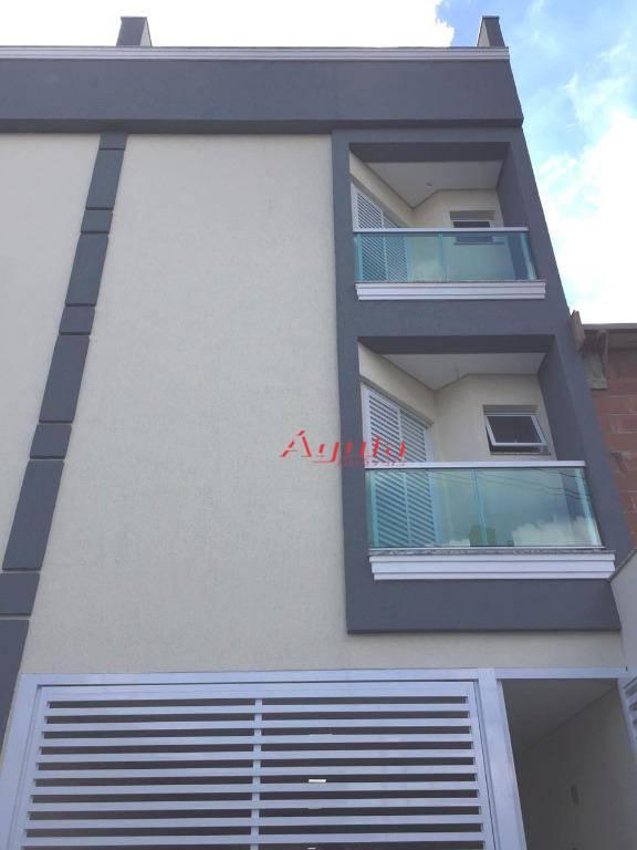 Apartamento com 2 dormitórios à venda, 50 m² por R$ 270.000 - Parque Novo Oratório - Santo André/SP