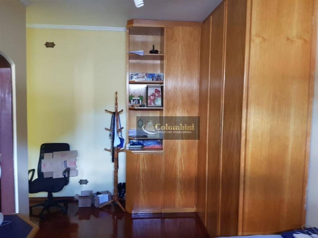 Sobrado residencial para locação, Vila Pinheirinho, Santo An
