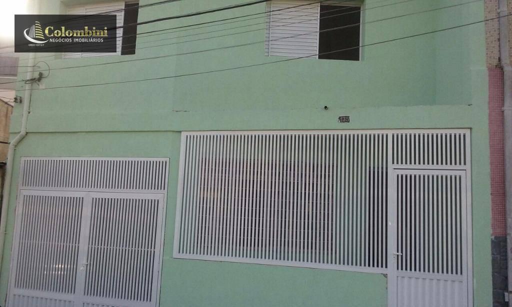 Sobrado com 3 dormitórios para alugar, 130 m² - Osvaldo Cruz - São Caetano do Sul/SP
