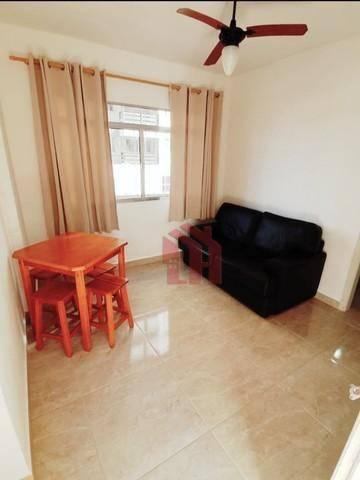 Apartamento com 1 dormitório à venda, 48 m² por R$ 172.000,00 - Gonzaguinha - São Vicente/SP