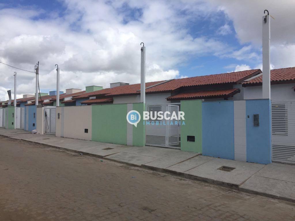 Casa com 2 dormitórios à venda, 62 m² por R$ 140.000 - Santo Antônio dos Prazeres - Feira de Santana/BA