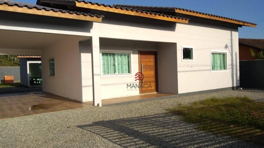 Casa com 3 dormitórios à venda, 164 m² por R$ 360.000,00 - Itapocú - Araquari/SC