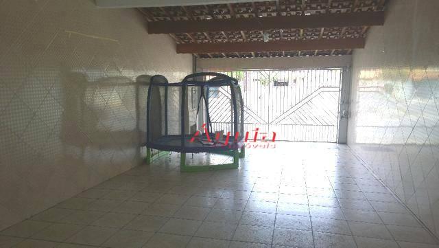 Sobrado com 3 dormitórios à venda, 203 m² por R$ 480.000 - Jardim Santo Alberto - Santo André/SP