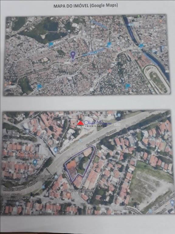 Área à venda, 5500 m² por R$ 11.000.000 - Vila Pirajussara - São Paulo/SP