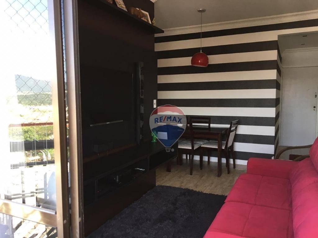 Apartamento com 2 dormitórios para alugar, 65 m² por R$ 1.200/mês - Alvinópolis - Atibaia/SP