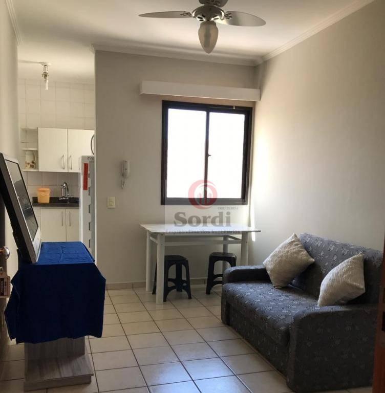 Apartamento com 1 dormitório para alugar, 49 m² por R$ 1.200/mês - Nova Aliança - Ribeirão Preto/SP