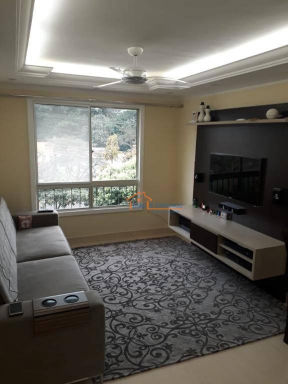 Apartamento com 3 dormitórios à venda, 70 m² por R$ 270.000 - Parque Villa Flores - Sumaré/SP