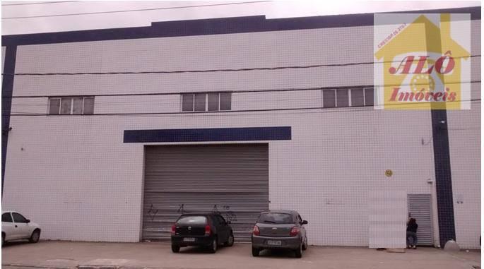Galpão para alugar, 1000 m² por R$ 16.000,00/mês - Tupi - Praia Grande/SP