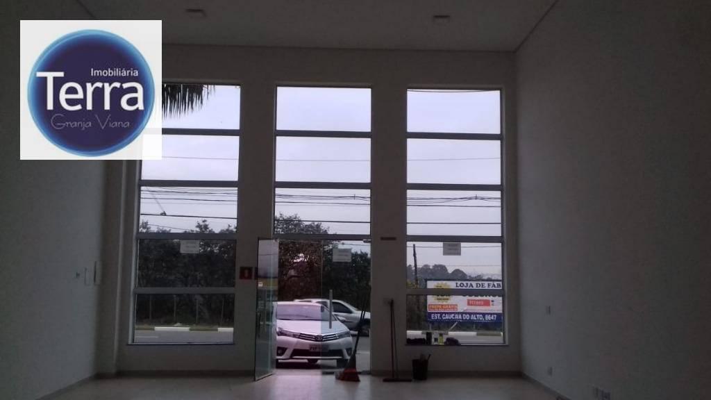 Loja comercial para locação, Granja Viana, Granja Viana.