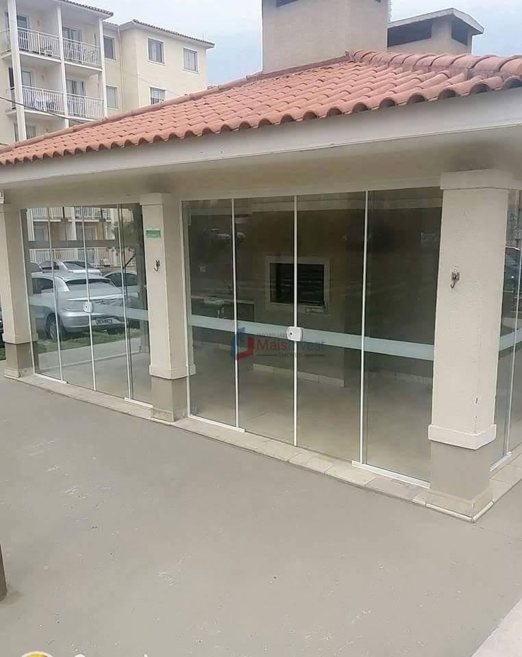 Apartamento com 2 dormitórios à venda, 52 m² por R$ 185.000 - Atuba - Colombo/PR