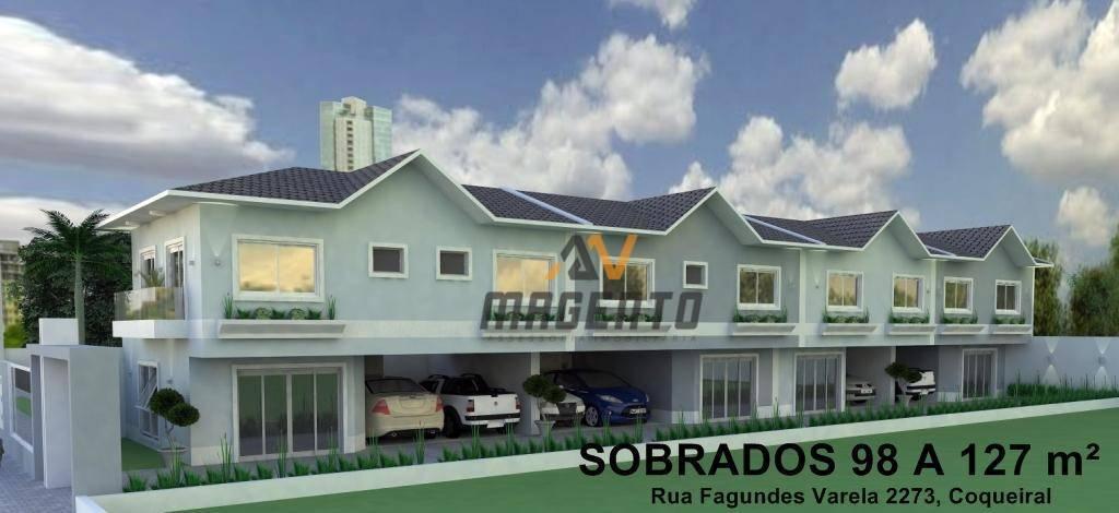 Sobrado residencial à venda, Alto Alegre, Cascavel.
