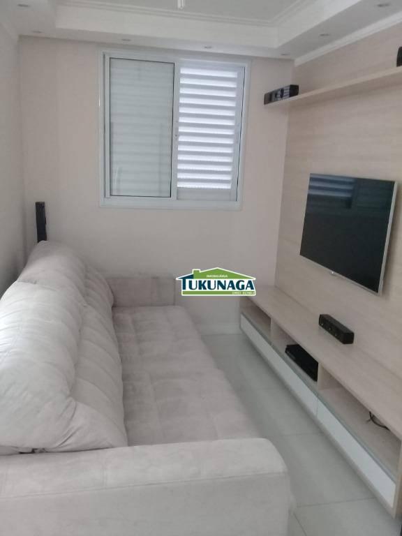 Apartamento com 2 dormitórios para alugar por R$ 2.750/mês - Gopoúva - Guarulhos/SP