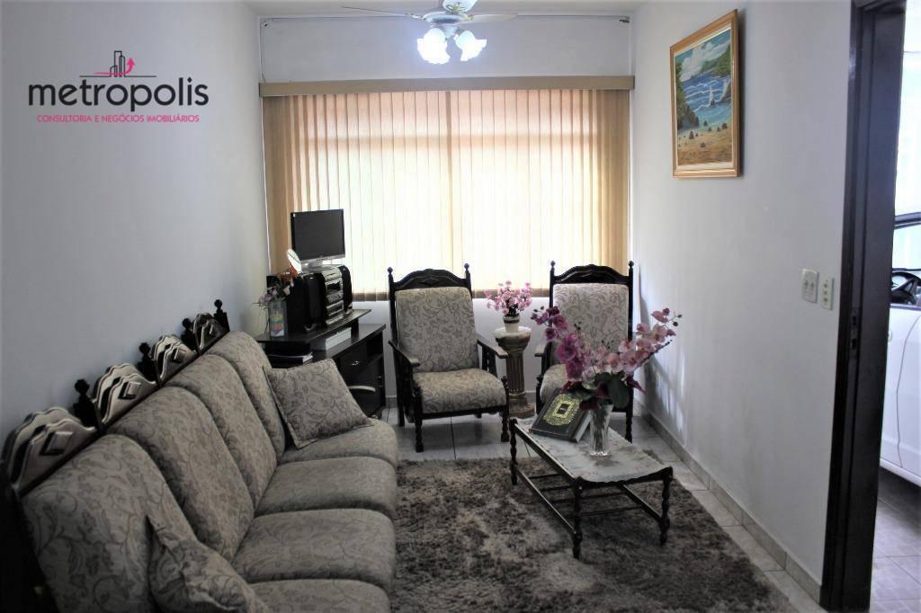 Sobrado com 3 dormitórios à venda, 118 m² por R$ 560.000 - Cerâmica - São Caetano do Sul/SP
