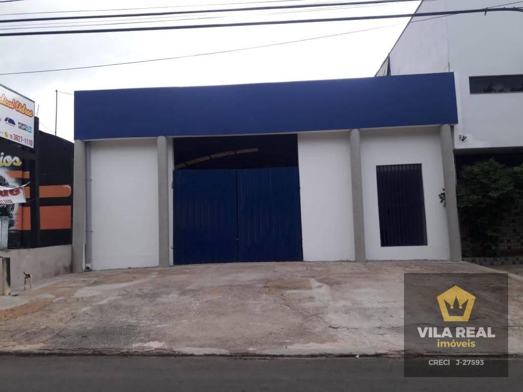 Barracão para alugar, 450 m² por R$ 4.000/mês - Centro - Artur Nogueira/SP