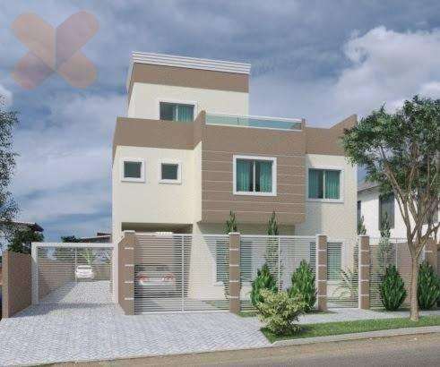 Sobrado com 3 dormitórios à venda, 175 m² por R$ 550.000 - U