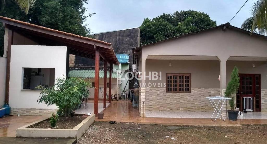 Casa com 3 dormitórios à venda, 128 m² por R$ 275.000 - Embratel - Porto Velho/RO