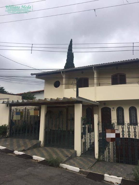 Sobrado residencial à venda, Jardim Vila Galvão, Guarulhos.