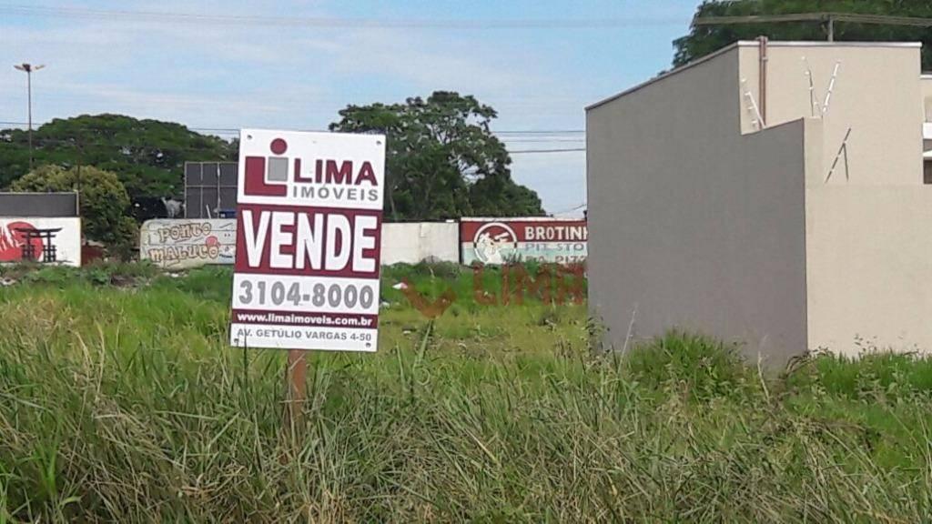 Terreno residencial à venda, Jardim Terra Branca, Bauru.