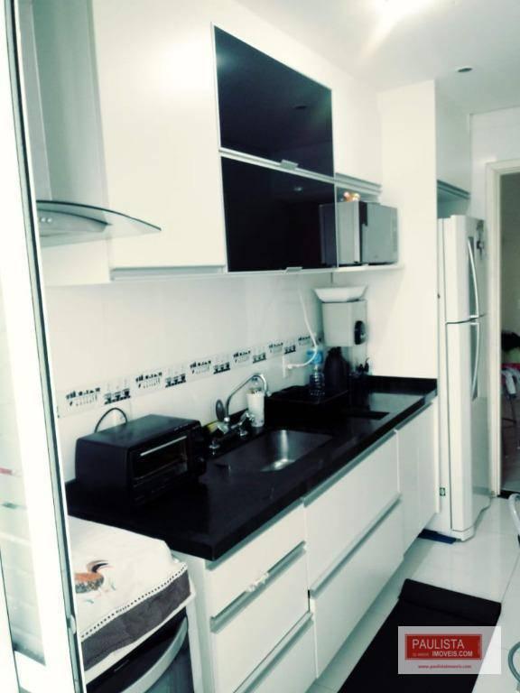 Apartamento com 3 dormitórios c/ suite  à venda, 74 m² por R$ 550.000 - Interlagos - São Paulo/SP