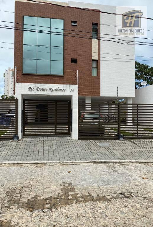 Apartamento com 2 dormitórios terrio para alugar, 70 m² por R$ 1.300/mês - Altiplano - João Pessoa/PB