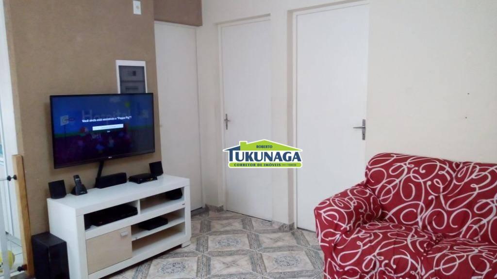 Apartamento com 2 dormitórios para alugar, 50 m²  - Jardim Valéria - Guarulhos/SP