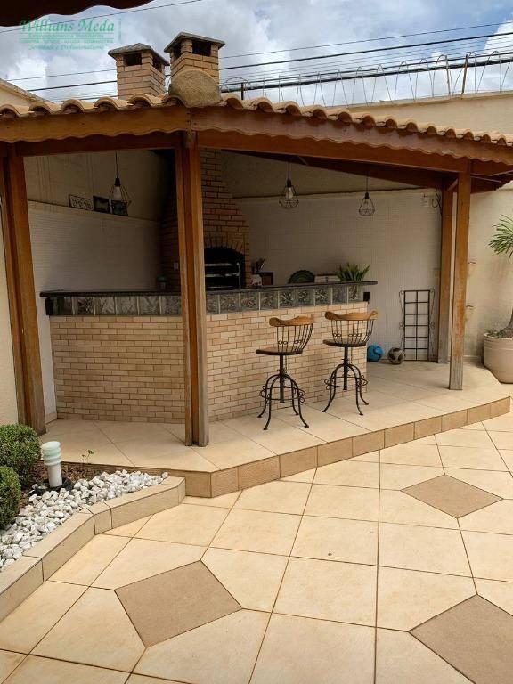 Sobrado com 3 dormitórios à venda, 150 m² por R$ 1.200.000 - Parque Renato Maia - Guarulhos/SP