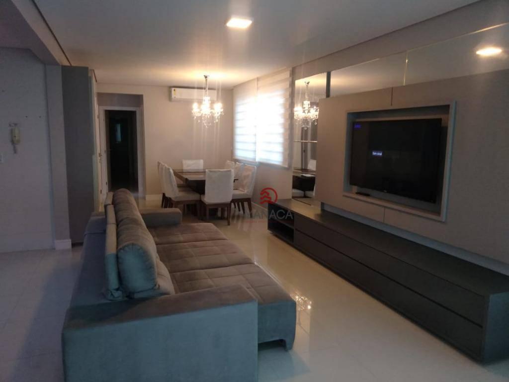 Apartamento com 3 dormitórios à venda, 115 m² por R$ 1.786.000 - Centro - Balneário Camboriú/Santa Catarina