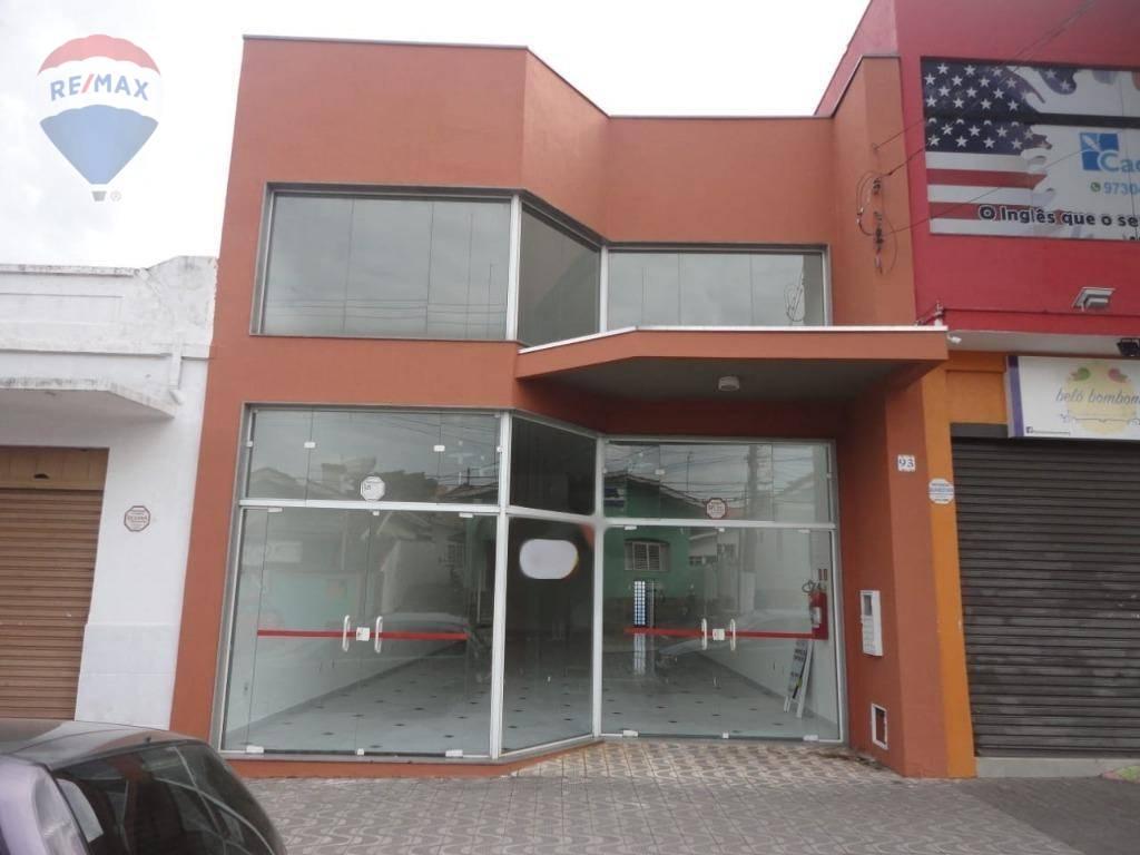 Salão para alugar, 210 m² por R$ 5.000/mês - Centro - Atibaia/SP
