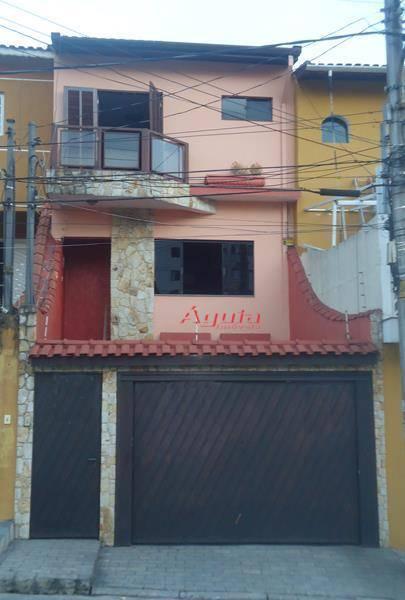 Sobrado residencial à venda, Vila Francisco Matarazzo, Santo André - SO0392.