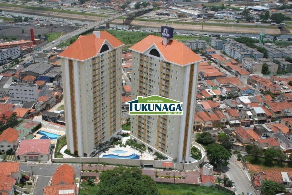 Apartamento com 3 dormitórios para alugar, 88 m² - Ponte Grande - Guarulhos/SP